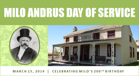 Milo Andrus Day of Service